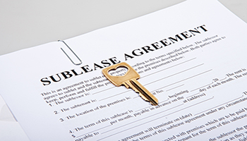 As the resident whose name is on the original lease, you are responsible for the actions of the person you're subletting your apartment to